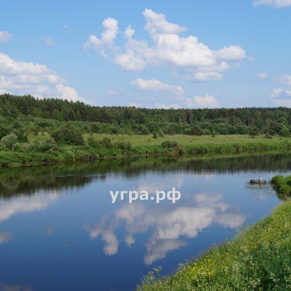 Рыбалка река Угра фото